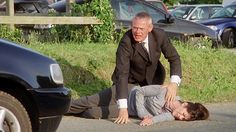 Doc Martin fans were left reeling after the Louisa Glasson, wife of Martin Clunes's character was hit by a car