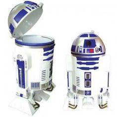 Loja de demonstração do sistema de e-commerce - Casa & Decoração / Diversos / Lixeira R2D2 Star Wars - My Little Hero