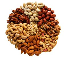 2. Nuts Nuts are a must for any guy struggling to put on muscle weight. 1 ounce of cashew or almonds contains 150-170 high quality calories. Nuts are the perfect blend of protein, fats, and fiber, allowing you to get the extra calories you need without having them pad your waistline. Nuts are also extremely portable, making them the perfect thing to snack on during the day if you need to increase your calorie intake.