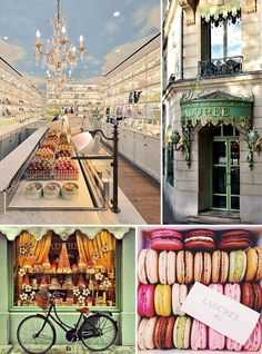 "This week over on the French Bedroom Company blog we've enlisted the help of our in-house Parisienne, Milene, to give us her top tips for visiting her home city of Paris.  including tips on where to eat in Paris, what to visit and what to avoid. Laduree and its wonderful macarons at its flagship Champs Elysee store are one of her ""must visits""."