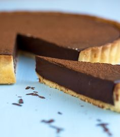 chocolate tart drizzleanddip.com (never heard of the chocolate in this recipe...but I'll look for it!)