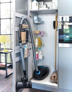 Умные места скрытого хранения на кухне