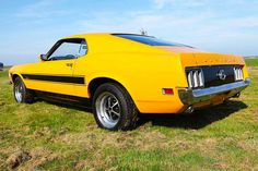 Ford Mustang Fastback 302 ci 1970 – CCC