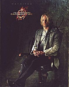 Great Hunger Games Photo With Woody Harrelson Autograph