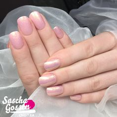 CND™ Flirtation collection!!!! I used Pink Pursuit SHELLAC™ with Lecenté Milky…