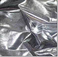 eventkauf Lycra Stoff Meterware am Stück (Silber) -  - 4.1 von 5 Sternen - DIY Stoffe und so Liquid Metal, Abstract, Artwork, Fabrics, Silver, Summary, Work Of Art, Auguste Rodin Artwork, Artworks