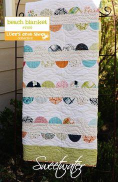 Beach Blanket - Download Pattern. $8.50, via Etsy.