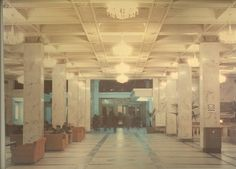 """Moscow hotel in the soviet years. """"Moskva"""" hotel was one of the largest in the Russian capital. It was built in 1933-35. Here you can see how the hotel looked like in the period from the 1950s to 1980s. Does it seem to be cosy?"""