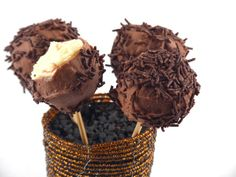 Acadele cheesecake cu ciocolata
