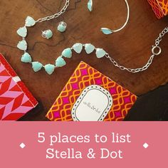 Tips for stylists: I make sure the WHOLE WORLD knows that I'm a stylist with Stella & Dot. You should be doing this too! Here are 5 ways you can start // a stylist's scribbles: 5 places you should be listing Stella & Dot as your job