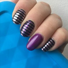 Blacklight jamberry nail wrap and beauty sleep jamberry gel.