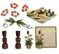Dollhouse Miniature NEW LUAU TIKI SET American Girl AG Mini ILLUMA ROOM PATIO   eBay