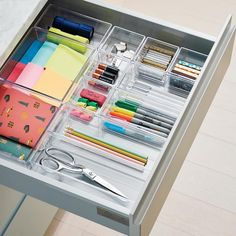 """Louisa Roberts on Instagram: """"we have to share this junk drawer we organized at the @real_simple house in brooklyn @pacificparkbk @neatmethod 🌈 photo by…"""""""