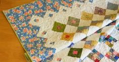 Stop the presses! Believe it or not, I have finished a second quilt this month! Spring Garden is now bound and ready to be enjoyed. Nine Patch Quilt, Quilt Border, Swirl Pattern, Number Two, Spring Garden, My Favorite Part, Patches, Quilting, Blanket