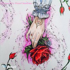 Po Drugiej Stronie Snu by Karolina Kubikowska in Prismacolor Premier Pencils