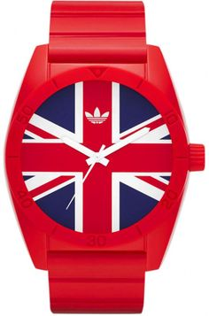 Adidas Red Union Jack Watch
