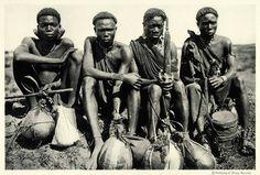 Kikuyu Tribesmen Kenya 1925