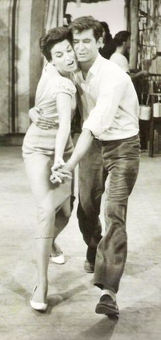 """Anthony Perkins and Silvana Mangano in """"This Angry Age"""""""