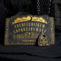 Absolutely gorgeous ouija board used for decoration
