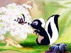 Flower...My all time favorite Disney movie.