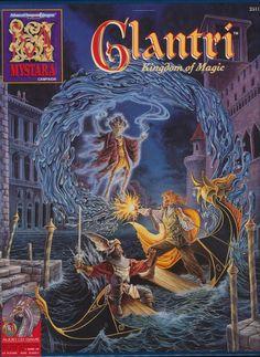 Dana Knutson é o cavaleiro, Diesel o lich, e Mary Fleming a feiticeira! Arte de Paul Jaquays.
