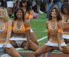 Absolutely Epic Cheerleader Fails
