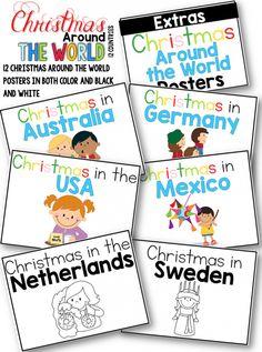 Christmas around the world activities.