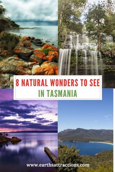8 natural wonders to see in Tasmania, Australia. Save this pin to your boards : 8 natural wonders to see in Tasmania, Australia. Save this pin to your boards Tasmania Road Trip, Tasmania Travel, Australia Travel Guide, Visit Australia, Australia Trip, Queensland Australia, Western Australia, Travel Guides, Travel Tips