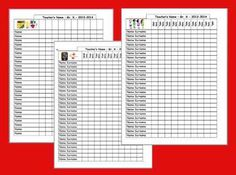Kindergarten Korner Class Lists And A Freebie  Teaching Ideas