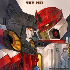 Starscream and Jetfire by on deviantART Transformers Jetfire, Transformers Armada, Ratchet, Gundam, Twins, Owl, Deviantart, Pictures, Fictional Characters