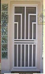 Home Steel Shield Security Doors More with sizing 1080 X 1915 Front Door Security Screen Doors - When selecting your front doors, you should go for one tha Metal Screen Doors, Front Door With Screen, Wrought Iron Doors, Front Doors, Door Grill, Grill Door Design, Steel Security Doors, Security Screen