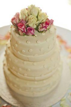 Wedding cake#roses