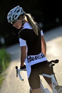 """Yet another """"why"""" there should be more female bicycle riders."""