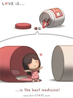 HJ-Story :: Love is... The best medicine! | Tapastic Comics - image 1