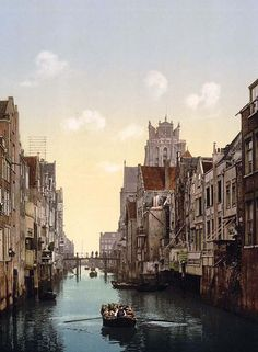 Dordrecht, the oldest town of Holland