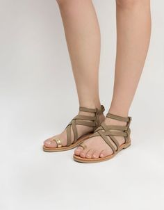 Limited edition Handmade criss cross gladiator by AlmyraSandals Ladies  Sandals 863037ccc74f
