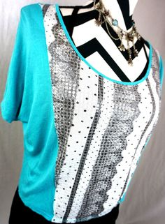 Daytrip Top XS Size XSmall The Buckle Bke Mint Print Crop Rayon Womens Shirt #Buckle #Blouse #Casual