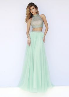 mind-blowing Long Mint Two Piece High Halter Neck Beaded Prom Dress 2015 [Sherri Hill 11220 Mint] - $232.00 : The Last Fashion Prom Dresses 2015 Online For Trends by Jasmine in Retroterest. Read more: http://retroterest.com/pin/long-mint-two-piece-high-halter-neck-beaded-prom-dress-2015-sherri-hill-11220-mint-232-00-the-last-fashion-prom-dresses-2015-online-for-trends/