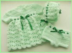 A Pattern to Crochet Dress Set for Premature Baby Reborn Doll 42 | eBay