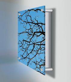 'Skyward Acrylic Backlit Panel by 2Modern. @2Modern'