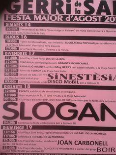 El blog de P.S.: Go!: Festa Major Gerri de la Sal 2012