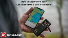 You can easily turn your cell phone into a satellite phone communicator. Quickly and easily share your location and maps. Just by pressing the red SOS button; it will immediately activate emergency rescue services.