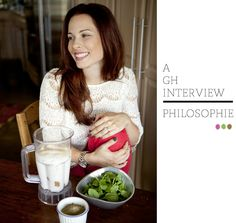 GH Interview Philosophie Superfood Blends' Sophie Jaffe  http://www.goddesshuntress.com/2013/11/06/interview-with-philosophies-sophie-jaffe/