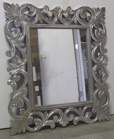 TTM Wonen - Teak meubelen, Perzische tapijten en Woonaccessoires - (Barok) Spiegels 50x70 € 55,-