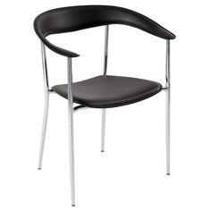 Tanya Dining Chair - Bonded leather seat and back, easy to clean smooth leather. $498 set of 2