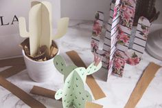 DIY | PAPER CACTI - TIME AND GLAM