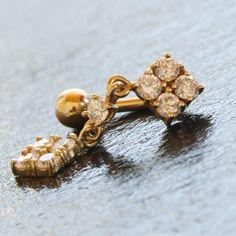 Piercing Nombril Inversé Or 14 carats https://piercing-pure.fr/p/277-piercing-nombril-inverse-or-14-carats.html #bijou #or #piercingnombril