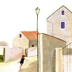 """Gefällt 260 Mal, 7 Kommentare - Beatrice Cerocchi (@beacerocchi) auf Instagram: """"Croazia #summer #holiday #illustration #sketch #sketchbook"""""""