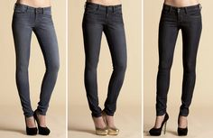 heels and jeans. perfect.
