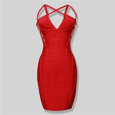 New Arrival Burgundy Cage Cut Out Ryaon HL Vestidos Bandage Celebrities Dress
